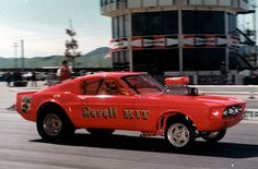 The Revell KIT Mustang Funny Car at OCIR...doesn't get any better than this.
