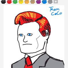 """""""Conan"""" I made his face too wide :("""