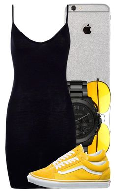 """Untitled #5407"" by dianna-argons-lover ❤ liked on Polyvore featuring Michael Kors, Boohoo and Vans"