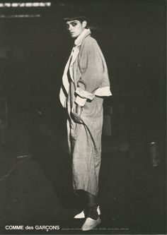 CdG by Peter Lindbergh 1980 Rei Kawakubo, Peter Lindbergh, Fashion History, Fashion Art, Fashion Brands, Vintage Fashion, Fashion Design, Vogue Paris, Pirelli