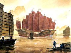 jonque de L'amiral Zheng He