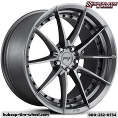 Niche M197 Sector Gloss Anthracite Wheels Rims