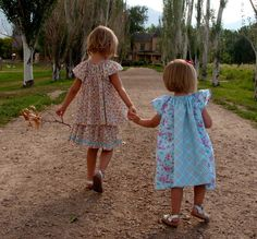 Sewing Pattern: Baby and Girl Angel Sleeve Dress and Blouse (INSTANT DOWNLAOD PDF, e-pattern, eBook). $6.00, via Etsy.