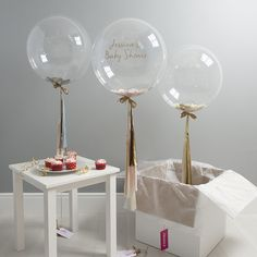 Give the mum-to-be a day to remember with lovely baby shower ideas and decorations by Bubblegum Balloons. For bespoke orders email info@bubblegumballoons.co.uk