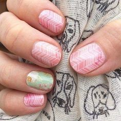 Jamberry Nail Wraps. Vintage Chic & Sorbet. Shop now: Megecon.JamberryNails.Net