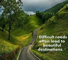 The best things in life won't come easy! ;) #difficult #beautiful #destination