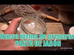 """Nueva pasta de Jabón para cueros """"El Rincón del Soguero"""""""
