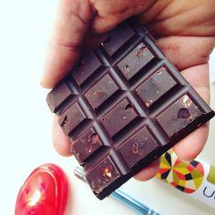 Personally my favourite 😀 Tamari Almond in Raw Dark Chocolate.. so smooth, the chocolate, so umami crunchy the almonds