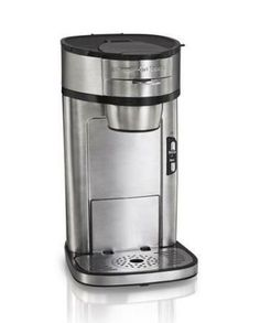 The Hamilton Beach Coffee Maker is like a Keurig but it doesn't require the individual prepackaged coffee packets that will be dumped in the trash.