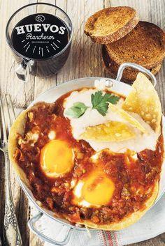 Deliciosadas - Huevos rancheros #desayunos