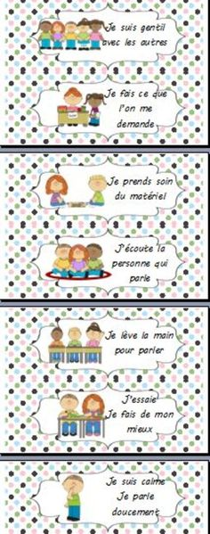 Charte du comportement French Classroom, Classroom Rules, Classroom Organization, Classroom Management, Education Positive, Class Rules, French Grammar, French Immersion, French Language Learning