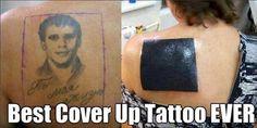 Tatuajes que fueron tapados por nuevos y quedaron aún peor -  OMG!!! Imagen 5