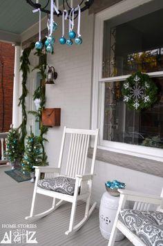 50 Stunning Christmas Porch Ideas - Christmas Decorating -