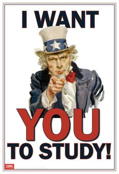 I Want You to Study Mini-Poster: Teacher's Discovery #unclesam #iwantyou #history