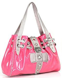 Shiny Laminated Fashion Handbag Shoulder Purse (Fuchsia Pink) scarlettsbags http://www.amazon.com/dp/B00MV8WA3E/ref=cm_sw_r_pi_dp_ivIWwb1GY1JJD
