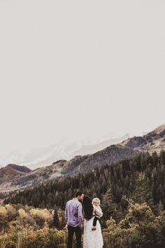 gorgeous family photos in the mountains