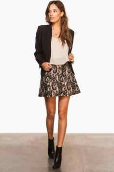 Creswell Blazer in Black / ShopSosie