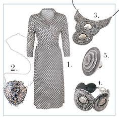Edler #Silber #Look mit #orientalischem Flair by Brigitte von Boch #bevonboch