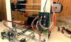 Wiring RepRa Prusa i3 and Ramps 1.4