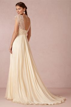 Thea Gown from BHLDN...saw this is person, finally. I couldn't stop touching it. In love.