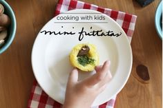 Готовим вместе с детьми. Мини-фриттата | Baby journal