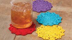 Crochet 201 Colorful Crochet Coasters | Crocheting Classes