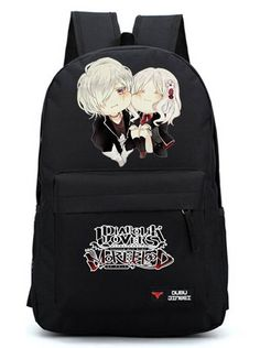 YOYOSHome® Anime Diabolik Lovers Cosplay Rucksack Backpack School Bag (Black) >>> Want to know more, click on the image. (This is an Amazon Affiliate link and I receive a commission for the sales)
