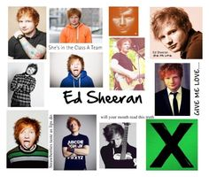 """""""Ed Sheeran"""" by abbybeaumont ❤ liked on Polyvore"""