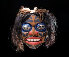 Don Lelooska (Kwakwaka'awkw, 1933-1996) Decorative Mask | Bidsquare