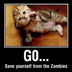Kitten Zombies - Mug