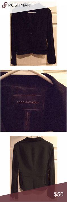 BCBGMAXAZARI (BCBG) Black Blazer Size small blazer in back from BCBG. BCBG Jackets & Coats Blazers
