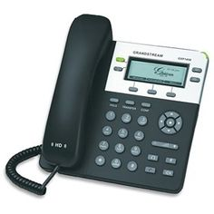 Grandstream GXP1450 is a two-line enterprise grade IP phone with 2 SIP accounts that delivers superior HD audio quality, rich and leading edge telephony features.