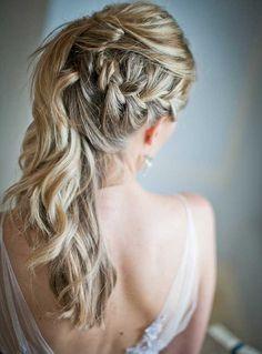 18 inspirações de penteado messy para noivas | http://www.blogdocasamento.com.br