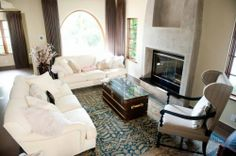 @Ashley Walters Walters Walters Tisdale´s house in Toluca Lake - beautiful living room