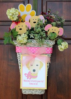 We Heart Parties: Party Details - Girly Pink and Yellow Puppy Birthday Party?PartyImageID=3df76db8-4c76-4d50-b1c1-c65b92651433