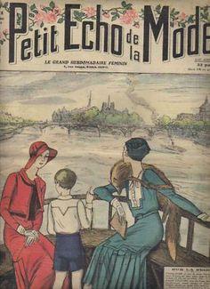 1934 Le Petit Écho de la Mode