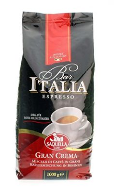 Saquella Bar Italia Slow Roasted Gourmet Italian Espresso Gran Crema Coffee Beans >>> You can find out more details at the link of the image. (This is an affiliate link) Italian Espresso, Best Espresso, Italian Coffee, Espresso Coffee, Best Coffee, Coffee Tasting, Coffee Drinks, Feeling Hungry, Blended Coffee