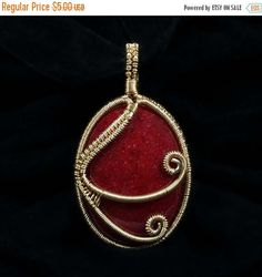 This wire jewelry tutorial teaches you how to trap a cabochon in a woven frame with graceful swirls to dance across the front and back of the pendant. The lesson teaches you a basic version of this style of pendant. However, with a little imagination, you can use the techniques taught here to create many different variations of this design.  This lesson calls for a cabochon, though you can also substitute a similar size bead for the cab instead. Keep in mind that if you do use a bead instead…
