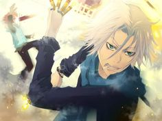 KH Reborn ~~ Gokudera on a tear and Tsuna getting blown up in the background.