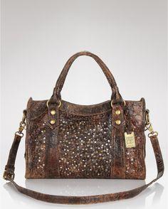 FRYE Deborah Glazed Vintage Satchel Handbag.  Use the link on the image for a discount! Thanks