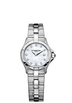 Parsifal 9460-ST-97081 Ladies Watch - Parsifal Steel 11 diamonds | RAYMOND WEIL Genève Luxury Watches