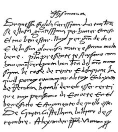 Letter to Lucrezia Borgia from her father Pope Alexander VI