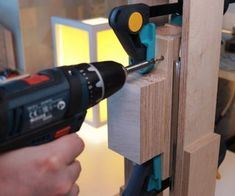 Making the Drill Press. Is It Worth It? [Build + Tests]: 17 Steps (with Pictures) Homemade Drill Press, Drill Press Stand, Pretty Much It, Do It Yourself Projects, Wood Screws, Wood Glue, Stick It Out, Woodworking Shop, Lego