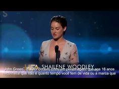 """Shailene Woodley recebendo o Hollywood Film Awards de """"Atriz Revelação"""" - YouTube"""