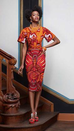 Элегантность innée |  Vlisco V-Inspired ~ Последние Африканский Мода, африканские принты, африканские стили моды, африканские одежды, нигериец стиль, ганского моды, африканские женщины платья, африканские сумки, африканские обувь, нигериец моды, Анкара, Китенге, Асо Оке, Kente, парча.  ~ DKK: