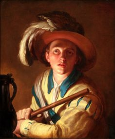 The Flute Player, 1621 - Abraham Bloemaert