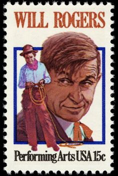 Will Rogers - 1979 - 15 c (Performing Arts)