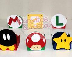 Forminhas Super Mario Bros Scrap