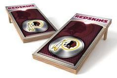 Washington Redskins Single Cornhole Board - Medallion