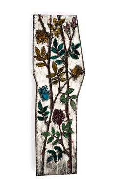 Rut Bryk, Glazed Ceramic Wall Plaque, c1960.